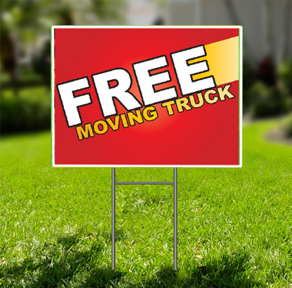 Free Moving Truck  for Self Storage -  Dash In