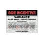 SQE Variance Sign
