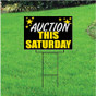 Auction This Saturday Self Storage Sign - Celebration