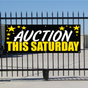 Auction This Saturday Banner - Celebration