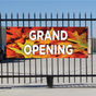 Grand Opening Banner - Fall