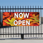 Now Open Banner - Fall