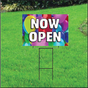 Now Open Self Storage Sign - Balloons
