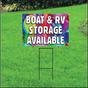 Boat & RV Storage Self Storage Sign - Balloons