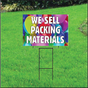 We Sell Packing Materials Self Storage Sign - Balloons