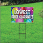Lowest Price Guarantee Sign Self Storage - Balloons
