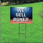We Sell Boxes Self Storage Sign - Patriotic