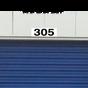 Self Storage Unit and Door Number Plaques