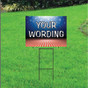 Semi Custom Yard Sign - Patriotic