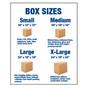 Box Sizes Sign