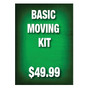 Basic Moving Kit Sign