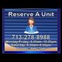 Reserve a Unit Sign