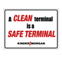 Clean Terminal is a safe terminal sign