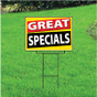 Great Specials Sign - Festive