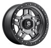Fuel Off-Road UTV Wheels | Anza D558 Anthracite 14 Inch