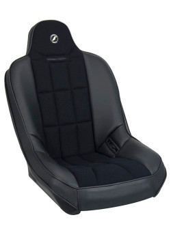 Baja SS Suspension Seat - Black Vinyl / Black Cloth