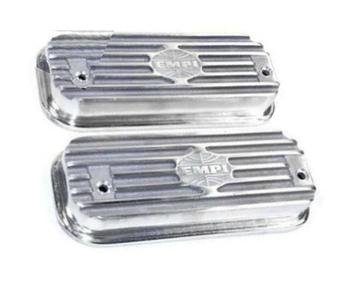 Bolt-On Polished Aluminum Valve Cover Set