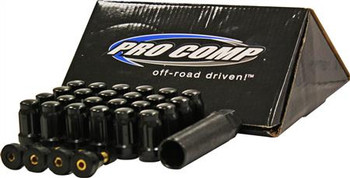 Lug Nut Kit - 12x1.5 Spline (Black)