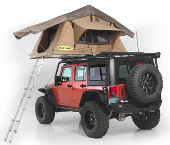 Overlander Roof Top Tent - Smittybilt - Camping