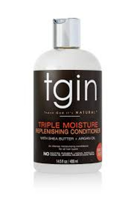 tgin Triple Moisture Replenishing Conditioner with Shea Butter and Argan Oil - 14.5 oz