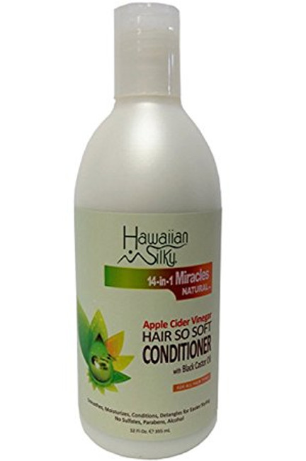 Hawaiian Silky Apple Cider Vinegar Hair So Soft Conditioner 12 oz