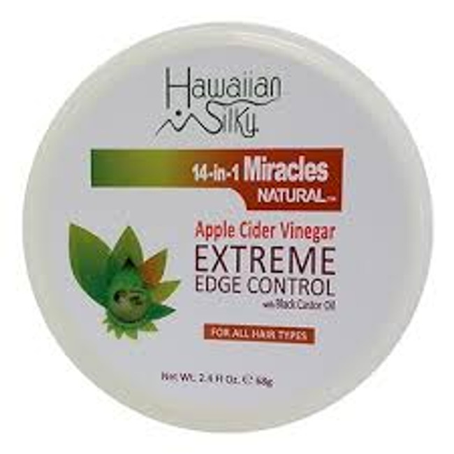 Hawaiian Silky Apple Cider Vinegar Extreme Edge Control 2.4 oz