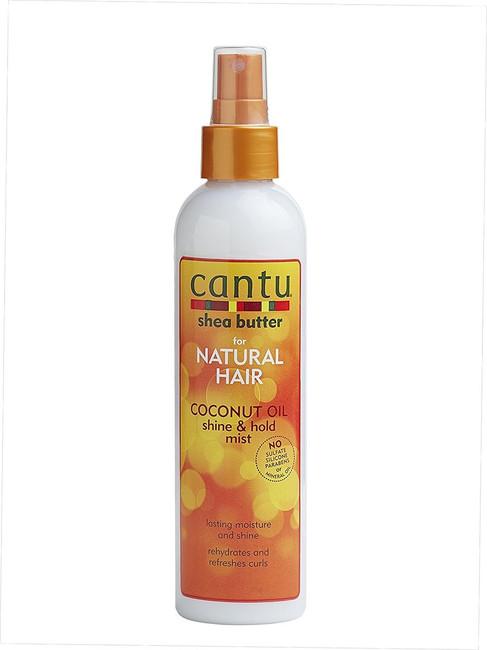 Cantu Coconut Oil Shine & Hold Mist 8 oz