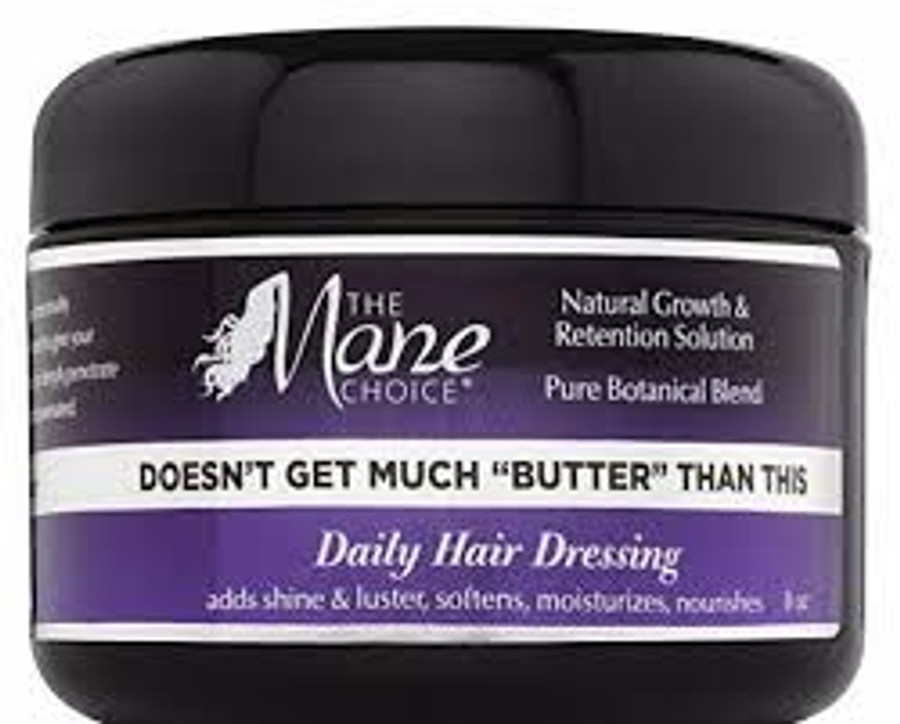 "The Mane Choice Doesn't Get Much ""BUTTER"" Than This Daily Hair Dressing"