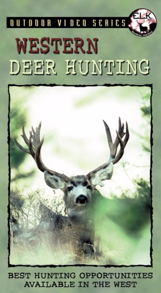 WESTERN DEER HUNTING DVD