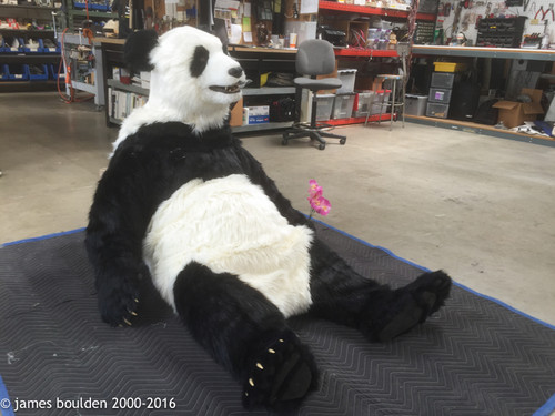 ... Panda costume in a relaxing pose ... & Realistic Full Scale Giant Panda Costume with Animated Face by ...