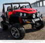 2018 New Polaris Style 4 Wheels Drive ride on Two seats+Rubber tyres (Red only)
