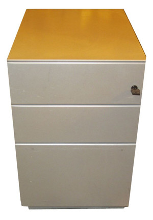 Metal 3 Drawer Pedestal (B30-3CE-EA5)