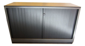 Ahrend Medium Grey Tambour Unit (CFB-4E7-2A2)