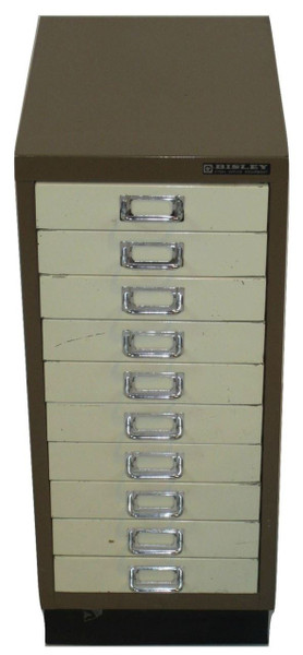 Bisley 10 Multi Drawer Filing Cabinet (EE7-8EA-9C4)