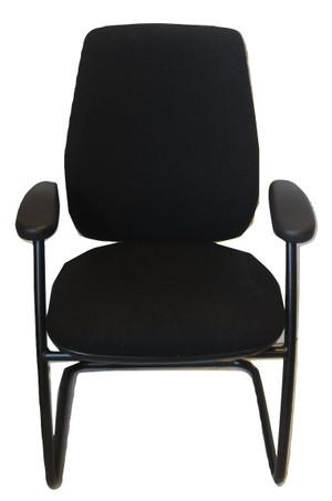 Summit Optech Black Meeting Chair (0D2-E43-02A)