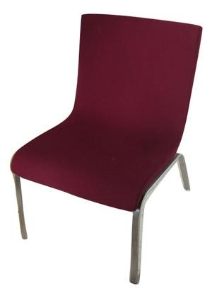 Boss Designs Burgundy Reception Chair (2-169)