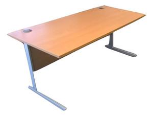 Senator 1600mm Canitlever Desk and Pedestal Pack (8EC-C33-DE4)