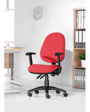 Red Operator Chair (D06-B82-2FA)