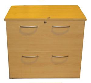 Maple 2 Drawer Side Filer (064-06F-12E)