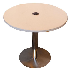 Orangebox White Round Table (299-FFC-AB2)