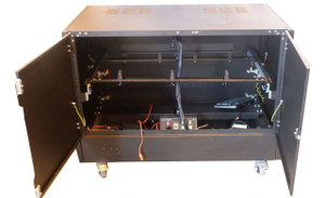 Large Black Server Cabinet (BBC-FDA-5D6)