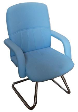 Pledge Powder Blue Meeting Chair (F6D-2CA-B65)