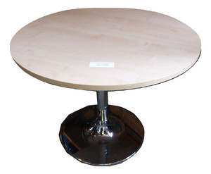 Round Beech Coffee Table (BAE-F7D-14D)