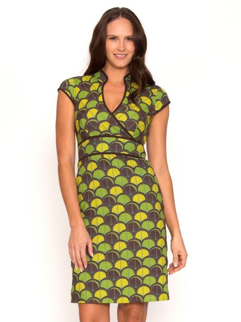 Sophie Dress - Shell Green