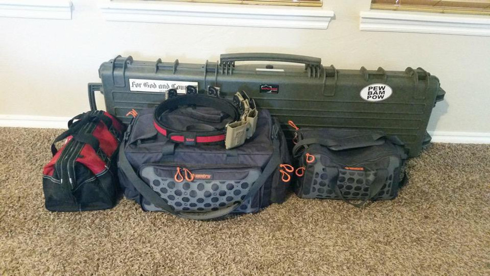 How to Pack Like a Pro for a 3-Gun Match