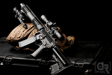 ATG and Hexmag magazine on this F-1 AR15.
