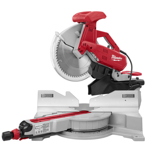 "Milwaukee 12"" SLIDING DUAL BEVEL COMP MITER SAW"