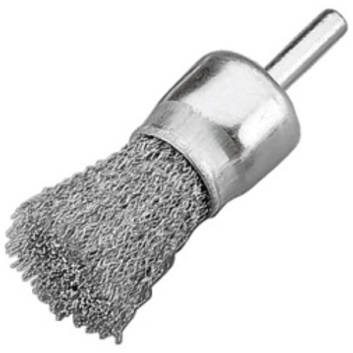 "Alfa Tools 1/2"" X 1/4"" COARSE END BRUSH IN CLAMSHELL"