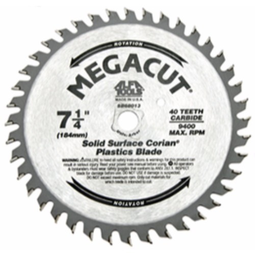 "Alfa Tools 10""X60T SOLIDCUT CARBIDE TIPPED SAW BLADE"