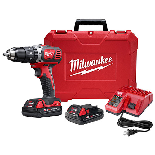 "Milwaukee M18™ 1/2"" HAMMER DRILL CP KIT"